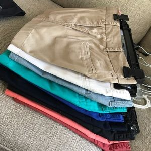J Crew Factory Chino Shorts